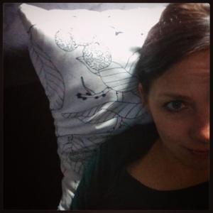 Mit einem Grobkorn-Selfie verabschiede ich mich für heute. Gute Nacht!